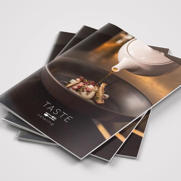 Menu Booklet - Taste Catering