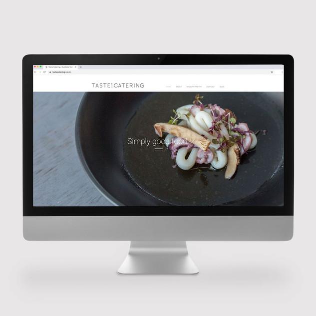 Taste Catering Website