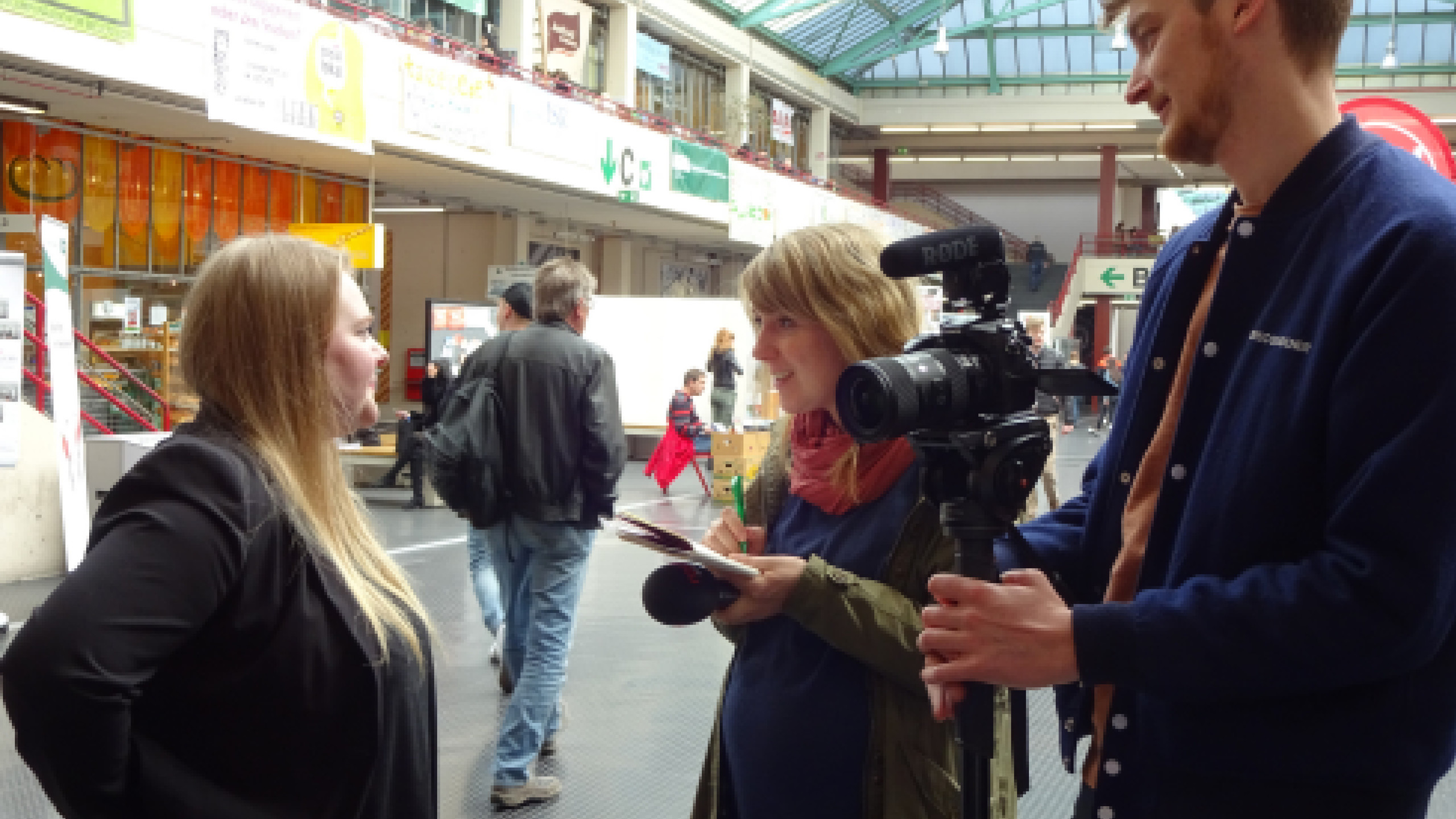 Antonia im Interview