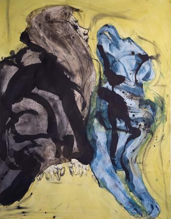 Jane Giblin, The Ear Chewer 150cm x 120c