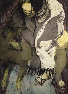 Jane Giblin, Look Down 150cm x 120cm, in