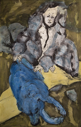 Jane Giblin, Earth Must 180cm x 120cm, i