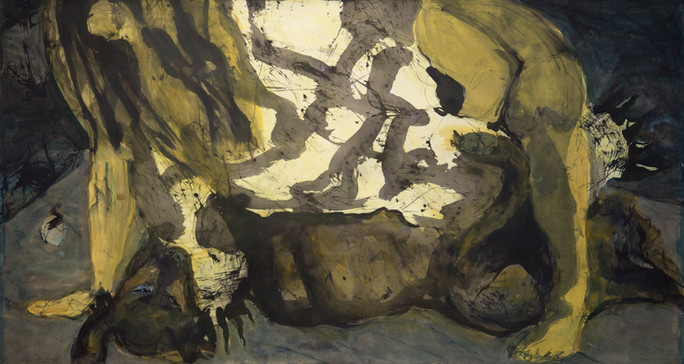 Jane Giblin, Tooth Grip, 120cm x 180cm,