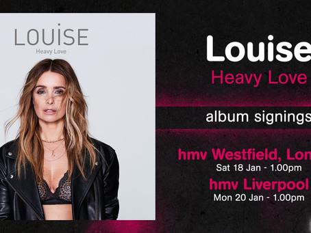HMV Album Signings