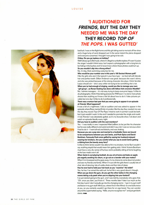The Girls of FHM 2000 - Article 05