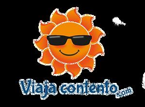 logotipo viaja contento