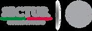 logotipo sectur viaja contento