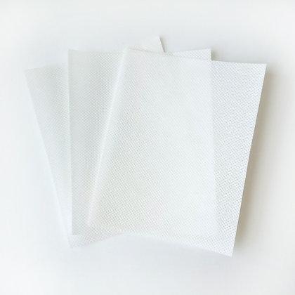 3 filtros TNT para máscara