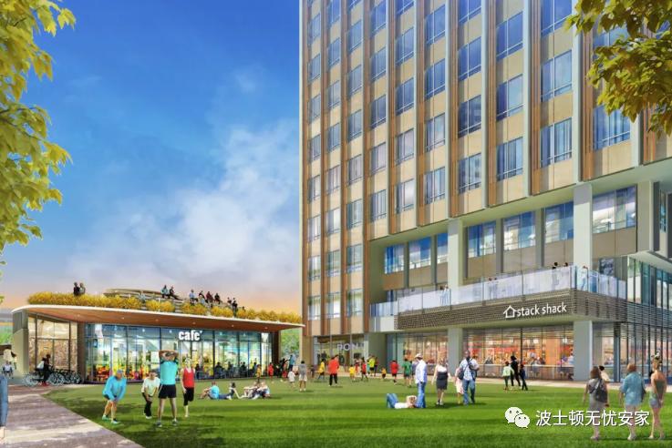 全新建造大楼景观