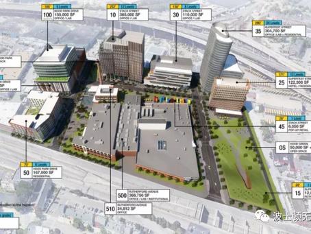 Hood Park全新大型建设项目,将在橙线打造另个Kendall Square?多方位结合的全新园区,提供不一样的生活体验