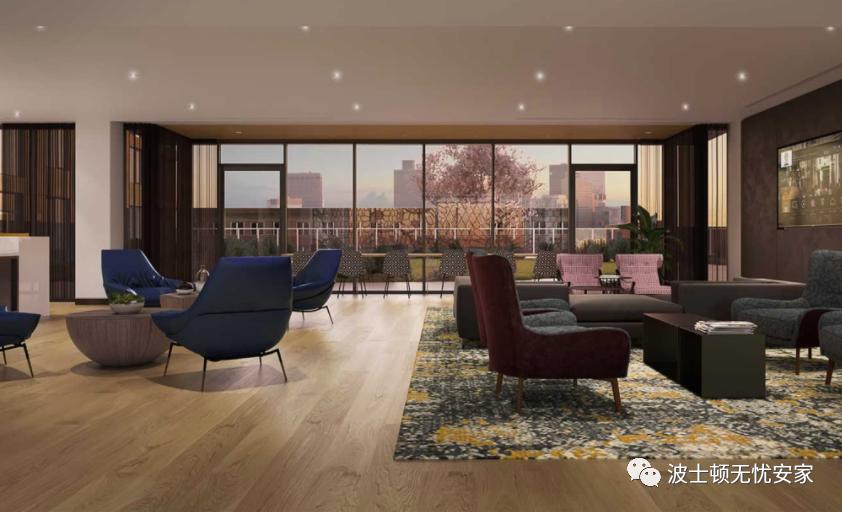 Hood Park提供全新的公寓大楼。