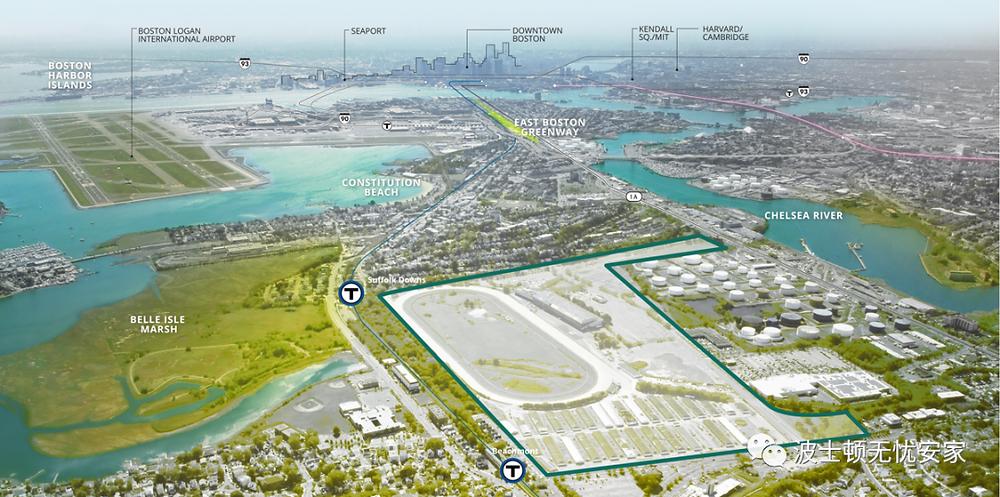 Suffolk Downs Planning blueprint
