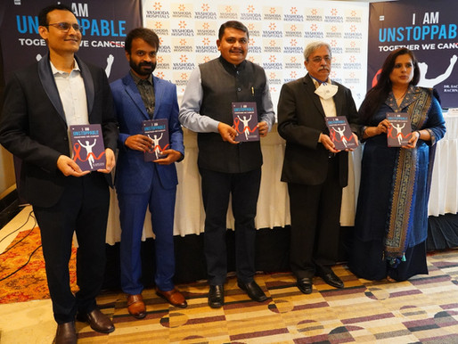 Book on cancer 'I am Unstoppable' launched
