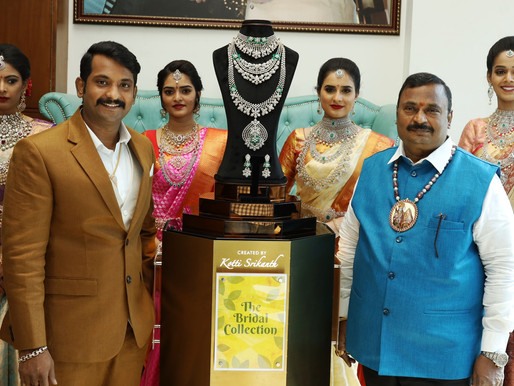 The Diamond Store by Chandubhai(A unit of Hallmark Jewellers) launches its new'Bridal Collection'
