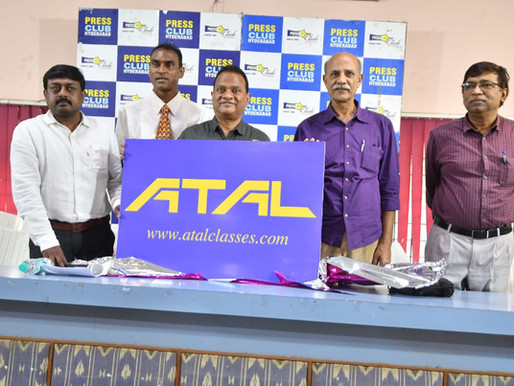ATAL Classes A Gateway For Iit Jee & Neet  Ingurated By Mr.V K Singh - IPS (RETD)