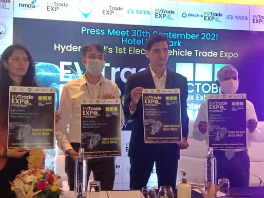 First ever Electric Vehicle's Trade Expo in Hyderabad