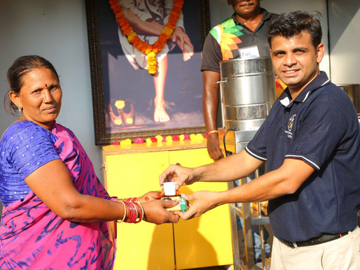Free Chai Counter by Rabinder Nath Foundation - An Initiative by IXORA Corporate Services
