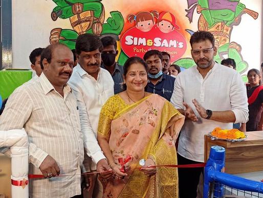 Deputy Mayor launches Sim & Sam's 5th branch at Tarnaka in Hyderabad