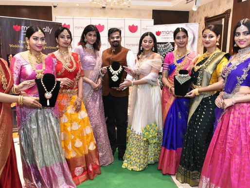 """MANEPALLY JEWELLERS LAUNCHES EXCLUSIVE WEDDING JEWELLERY COLLECTION """"PURITY MEETS EXCELLENCE"""""""
