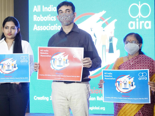 Trade Body of The Robotics Industry in India 'AIRA' Launched For Ecosystem Development of Robotics
