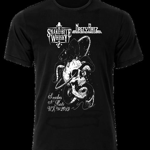 Snakes N' Ratz U.K tour 2019 T-shirt