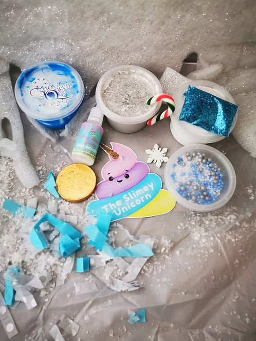 Frozen inspired slime kit