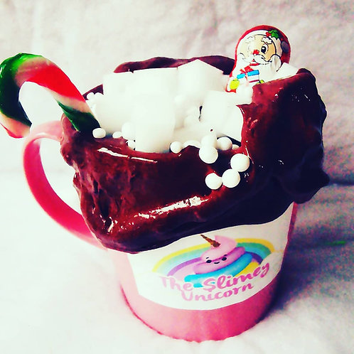 Hot chocolate slime kit