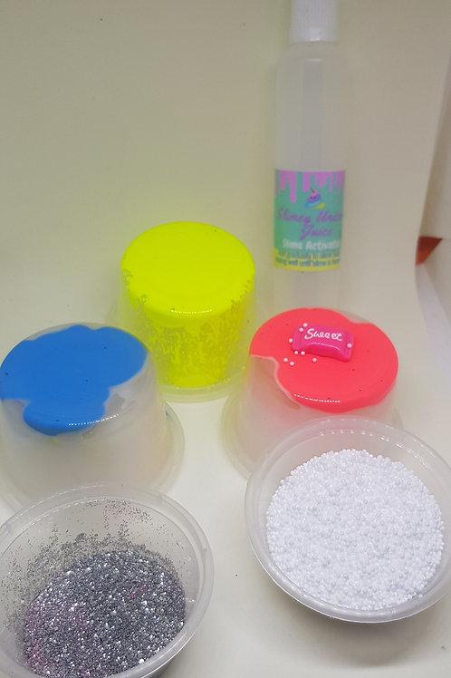 Neon medium slime kit