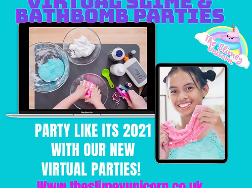 Virtual Slime Party kits