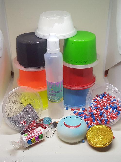 Boys slime kit Large