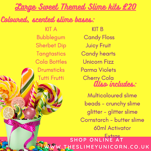 Sweetie Themed Large Slime Kit