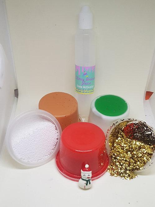 Christmas slime kit medium