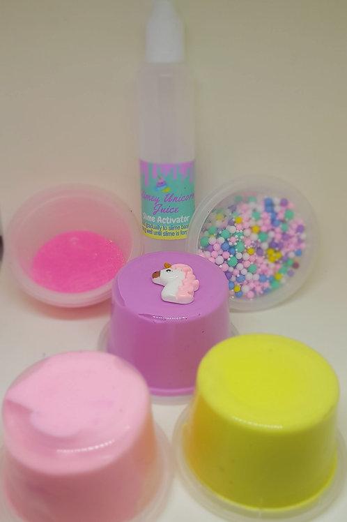 Unicorn medium slime kit