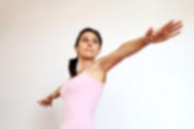 Postur Yoga Virabhadrasana 2