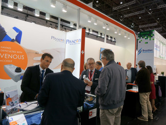 Veinplicity Launches to Rousing Success at Medica 2015