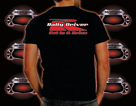 Rally North America Driver Tee