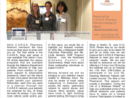 C.A.R.E.S. Newsletter- Issue 8
