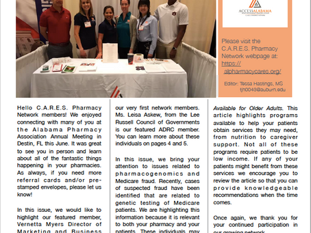 C.A.R.E.S. Newsletter- Issue 9