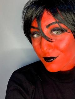 Maquiagem Diaba