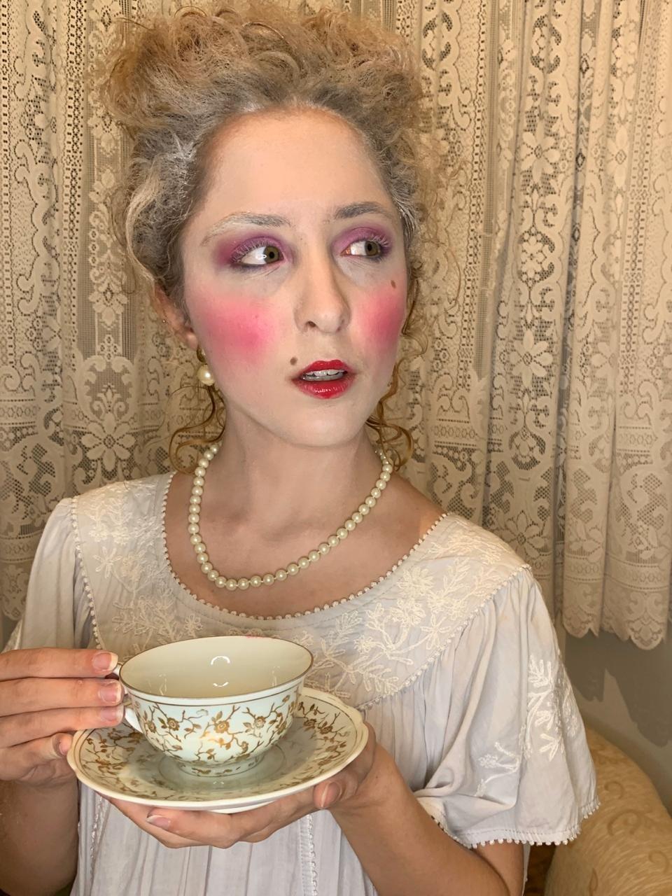 Maquiagem da Maria Antonieta