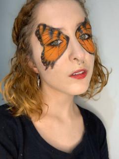Maquiagem Borboleta (inspirada no álbum Brand New Eyes - Paramore)