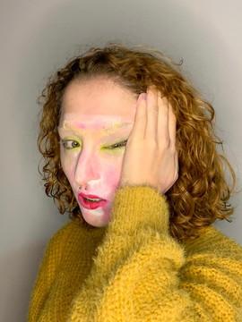 Maquiagem Quarentena (sequência de fotos)