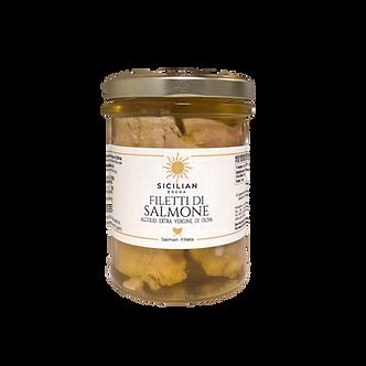Filetti di Salmone all'Olio Extravergine di Oliva