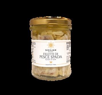 Filetti di Pesce Spada all'Olio di Oliva