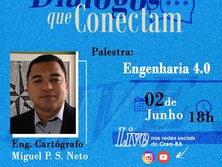 """Engenharia 4.0 é tema no projeto """"Diálogos que Conectam"""" do Crea/BA"""