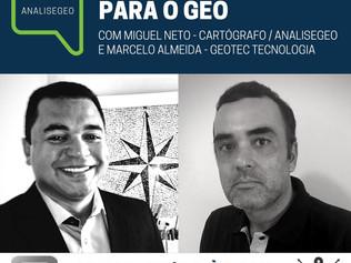 Live AnáliseGeo: Novas Tecnologias para Georreferenciamento