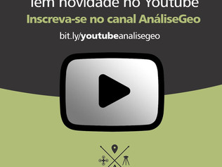 Canal AnáliseGeo no Youtube