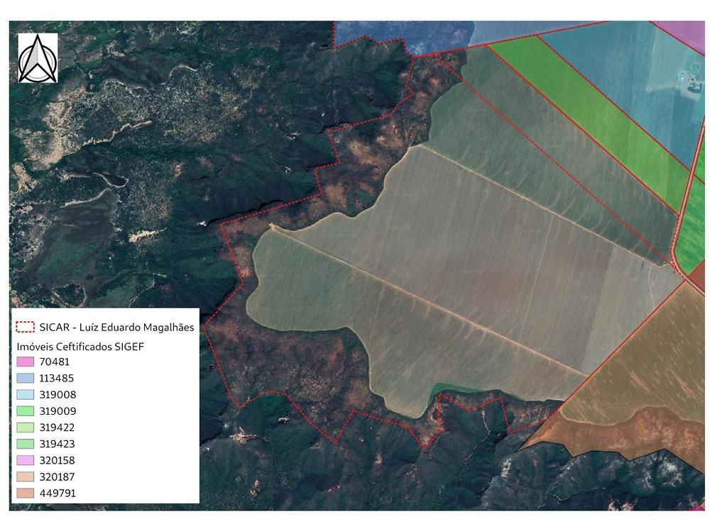Divergências entre as bases de dados do CAR e do Sigef (contribuição do perito agrário Israel Ely)