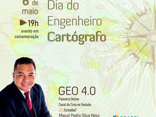 Crea-BA comemora dia do cartógrafo com palestra online