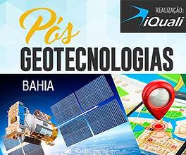 Pós Graduação em Geotecnologias - iQuali